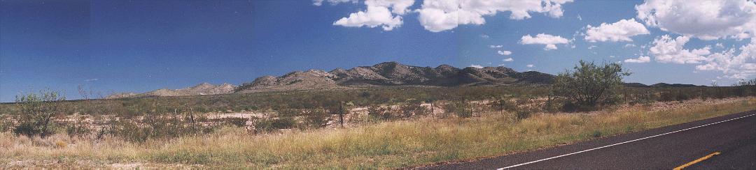 sierra madera meteor crater photos