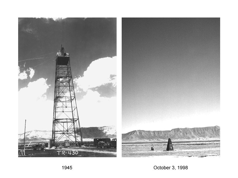 Trinity Site Then And Now